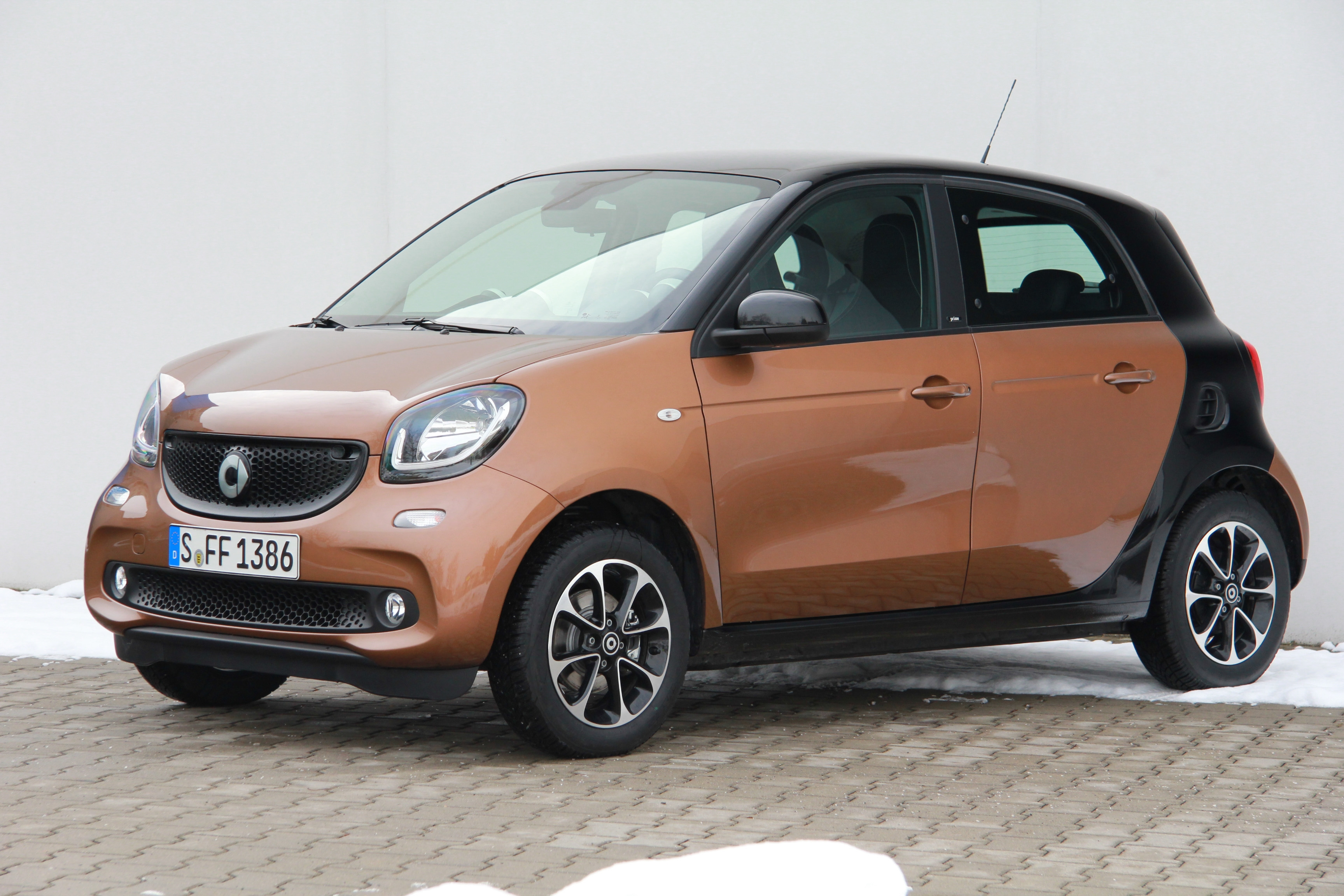 smart forfour test complet prix sp cifications